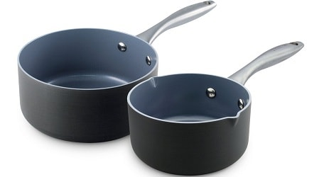 GreenPan Lima Non-Stick Ceramic Saucepan Set