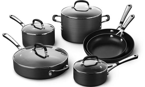 Simply Calphalon Nonstick 10 Piece