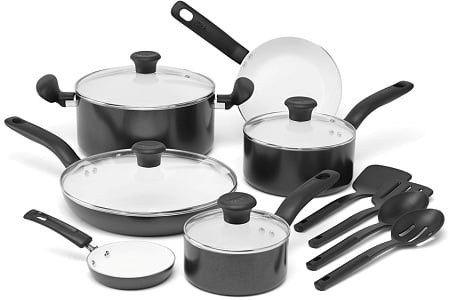 T-fal C996SE Initiatives 14-Piece Cookware Set