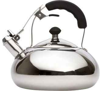 Vanika Stainless Steel Whistling Tea Kettle