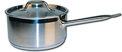 Winware Stainless Steel Sauce Pan
