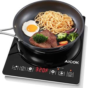 Aicok Portable Induction Cooktop Countertop Burner