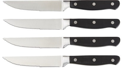 AmazonBasics Premium 8-Piece Steak Knife Set