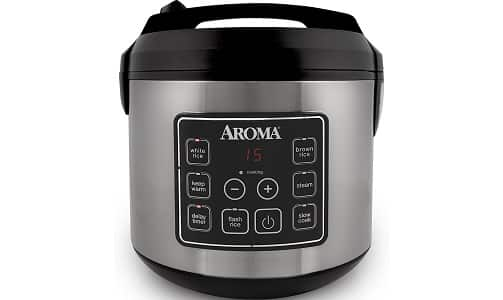Aroma Housewares Cooked Digital Rice Cooker