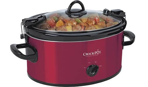 Crock Pot Cook & Carry Oval Manual Portable Slow Cooker