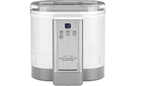 Cuisinart CYM-100 Electronic Yogurt Maker with Auto Cooling
