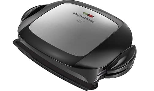 George Foreman Panini Press and Removable Plate Grill