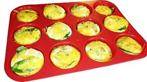 Keliwa Silicone Muffin-Cupcake Baking Pan