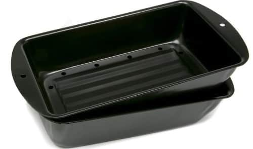 Norpho 2 Piece Nonstick Meatloaf Bread Pan Set