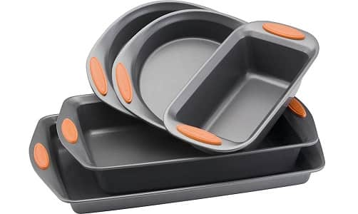 Rachael Ray 5-Piece Non-Stick Bakeware Set