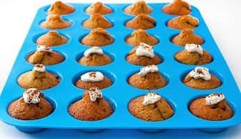 The Boston Sweets Silicone Mini Muffin & Cupcake Pan