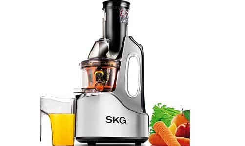SKG Anti-Oxidation Wide Chute Slow Masticating Juicer