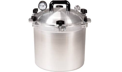 All American 21-1-2-Quart Pressure Cooker Canner