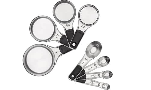 OXO Good Grips Stainless Steel Measuring Spoons and Cups Set
