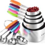 U-Taste 10 Piece Measuring Spoons and Cups Set