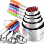 U-Taste 10 Piece Measuring Spoons and Cups Set