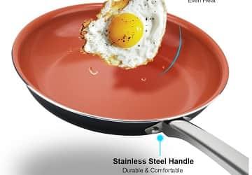 Hommate Nonstick Omelette Pan