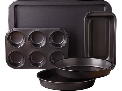 Sunbeam 76893.05 5-Piece Kitchen Bake Bakeware Set