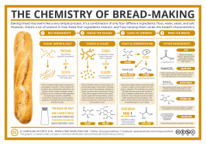 making bread infographic