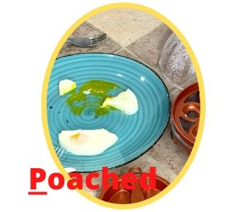 poached egg test