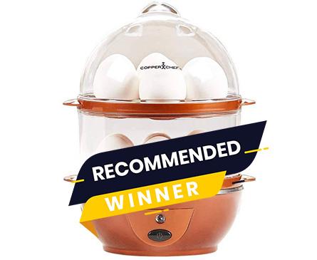 winner copper chef egg maker