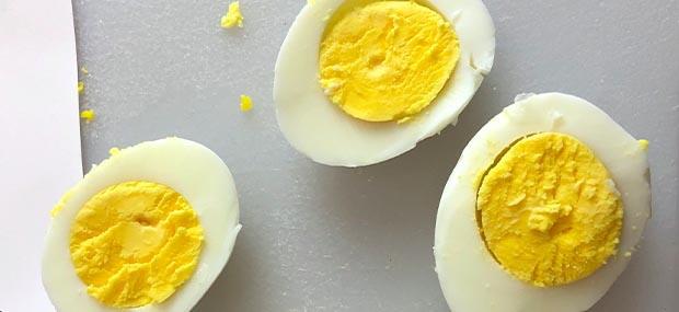 hard boiled eggs from maxi-matic