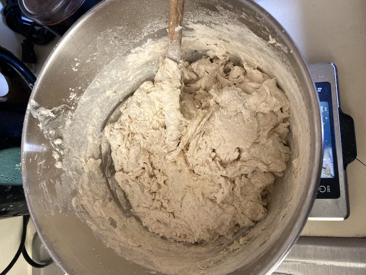 1-dough mixed
