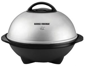 George Foreman 15-Serving Indoor and Outdoor Electric Grill-GGR50B
