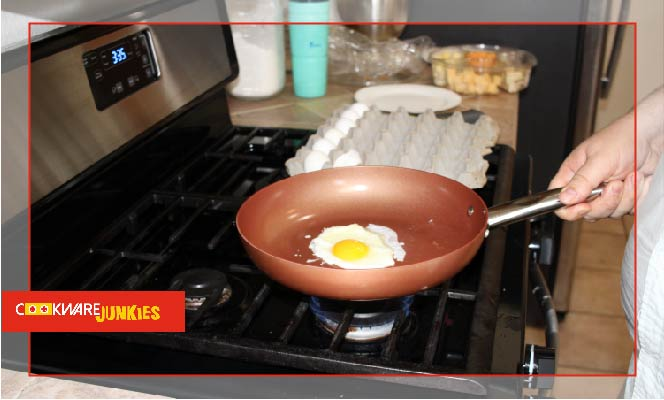Copper Chef fried egg