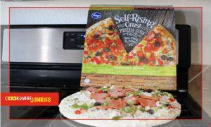 Kroger Self-Rising Supreme frozen pizza