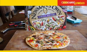 Newman's Own Harvest Vegetable cooked pizza