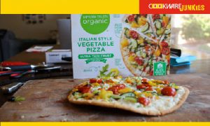 Simple Truth Italian Style Veggie cooked pizza