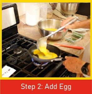 Step 2 - Add Egg