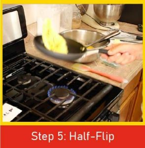Step 5 - Preform Half-Flip