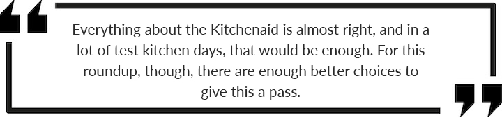 kitchenaid review summery