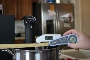 Maverick PT-55 thermometer warm test