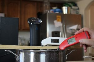 Thermapen Mk4 thermometer warm test