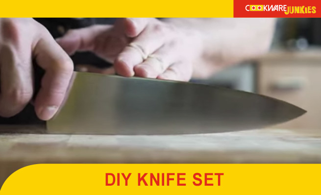 building your own knife set