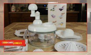 6. Ultra Chef Express manual and Mandoline Food Chopper