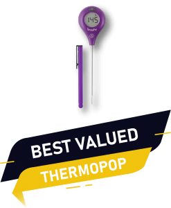 BEST valed ThermoPop 1 instant read thermometer