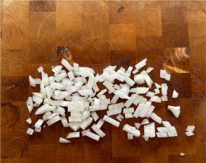 chopped onion tested by Fullstar Glass Onion Chopper