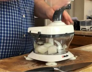 testing-onion-chopping-with-Mueller-Ultra-Heavy-Duty-Chopper-and-Cutter