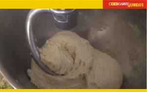 All flour unkneaded for White bread recipe