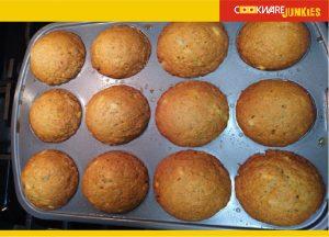 baked Banana Muffins 2