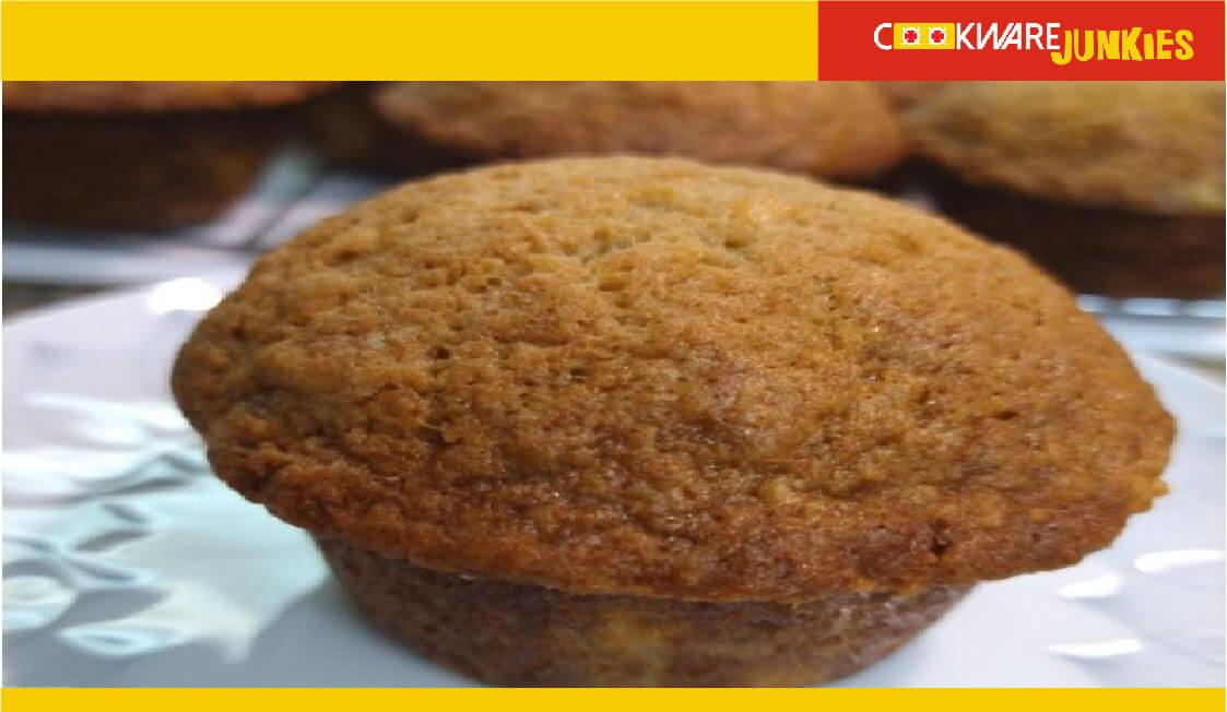 baked Banana Muffins 3