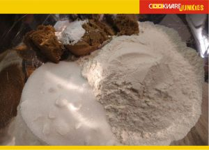 dry ingredients for Banana Muffins