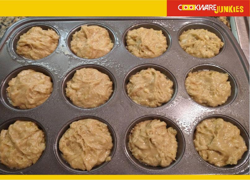ready to bake Banana Muffins