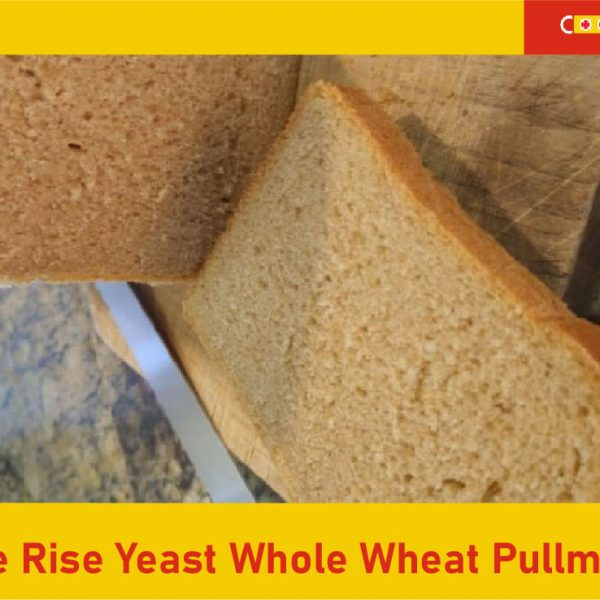 Multiple rise yeast whole wheat Pullman loaf featured image 1