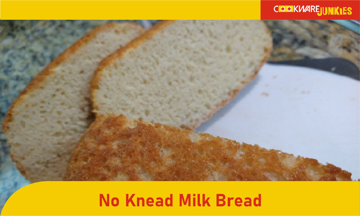 No Knead Milk bread featured image