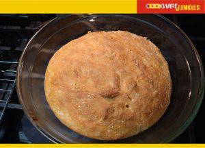 No knead milk bread recipe baked 1